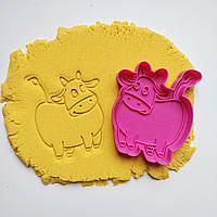 """3D формочки-вырубки для пряников """"Корова"""""""