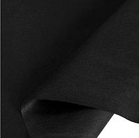 Флизелин (спанбонд, плотность 150 г/м²) мебельный цвет черный