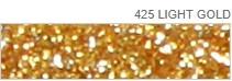 Poli-Flex Pearl Glitter 425 Light Gold