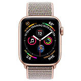 Apple Watch Series 4 40mm (GPS) Gold Aluminum Case with Pink Sand Sport Loop, фото 3