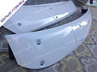 Козырек лобового стекла для Opel Vivaro (Белый), спойлер солнцезащитный Опель Виваро