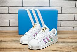 Кроссовки женские Adidas Superstar (реплика) 30972