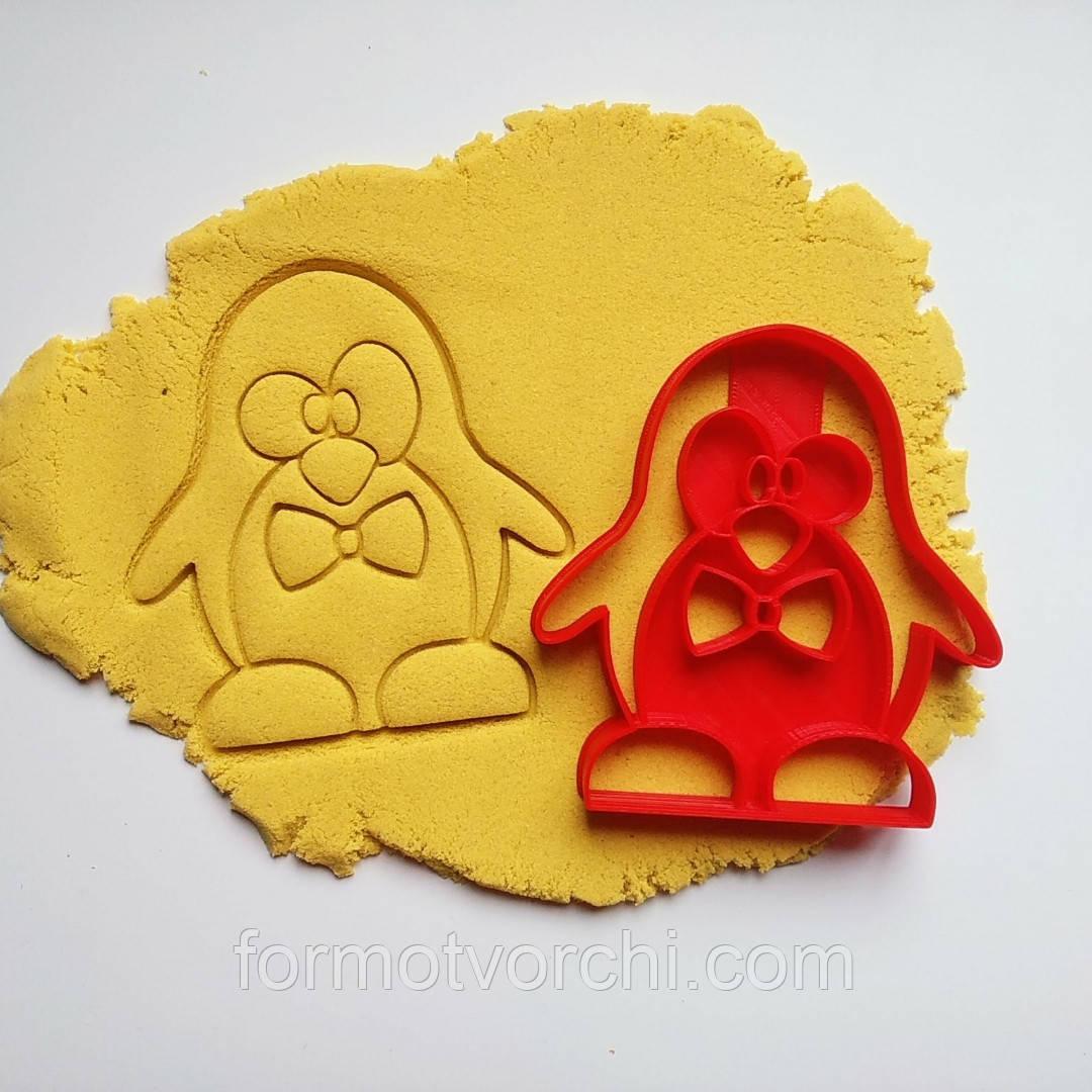 """3D формочки-вырубки для пряников """"Пингвин"""""""
