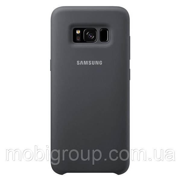 Чехол Silicone Cover для Samsung Galaxy S8, Dark Grey