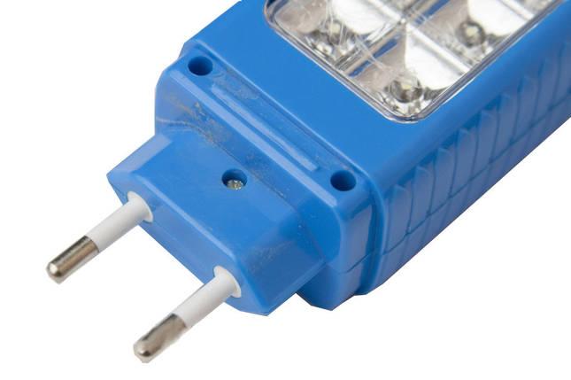 Аккумуляторный светодиодный фонарик-светильник YAJIA YJ-206, 1+12LED,походные фонари,переносные светильники, фото 2