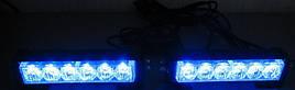 Стробоскопы синие S5-6 LED Federal signal -12В (7800)