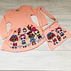 Платье и торбочка для девочки  ( 3-10 лет)