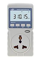 Измеритель параметров потребления электроэнергии Benetech GM87 (до 1А)