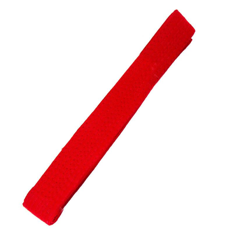 Пояс для кимоно красный 270см