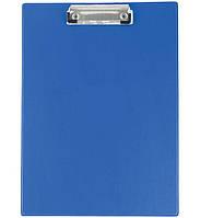 Планшет А4 Buromax 3411-03 ПВХ синий