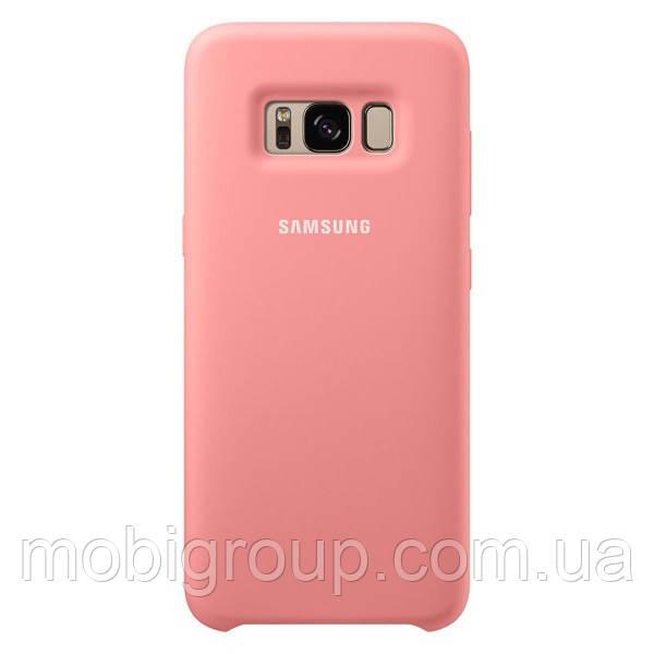 Чехол Silicone Cover для Samsung Galaxy S8, Pink