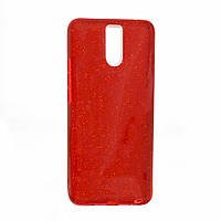 Чехол TWINS с блестками Meizu M6 Красный