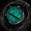 • Оригинал! Skmei(Скмей) 1025 Dive Black | Cпортивные мужские часы !, фото 2