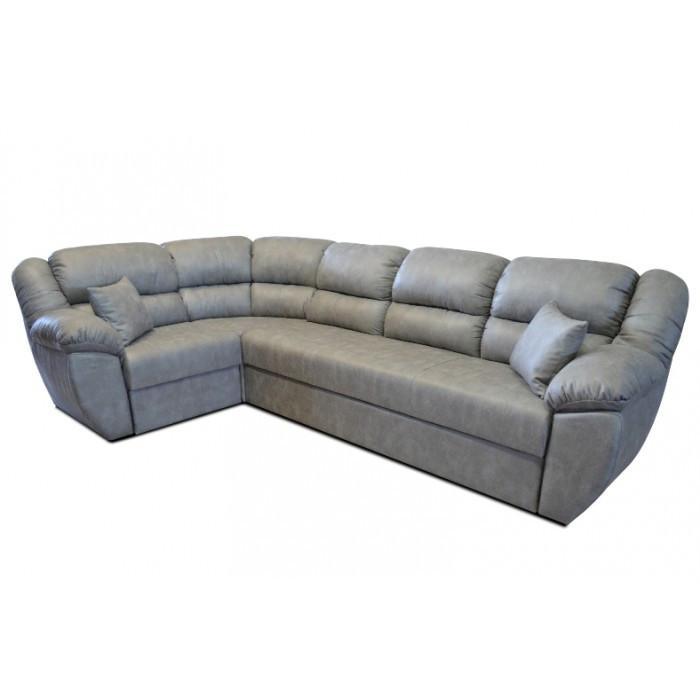 Угловой диван Рафаэло 3.05 серый (вестерн 08) Элизиум