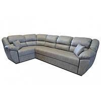 Угловой диван Рафаэло 3.05 серый (вестерн 08) Элизиум, фото 1