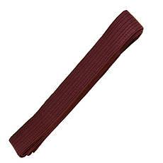 Пояс для кимоно коричневый 260 см