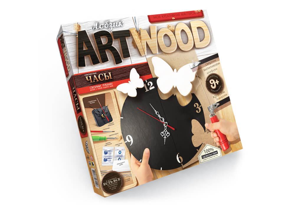 Art Wood Моя креативная мастерская Danko Toys Бабочки(LBZ-01-03)