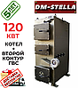 Твердотопливный котел на дровах 120 кВт DM-STELLA (двухконтурный)