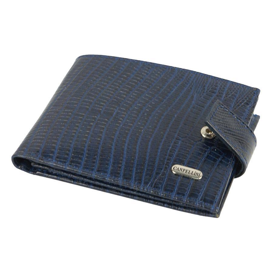 Темно-синій чоловічий гаманець Canpellini 1106-60 d-blue