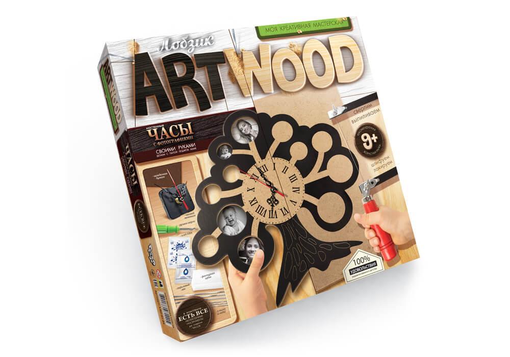 Art Wood Моя креативная мастерская Danko Toys Фамильное дерево (LBZ-01-04)