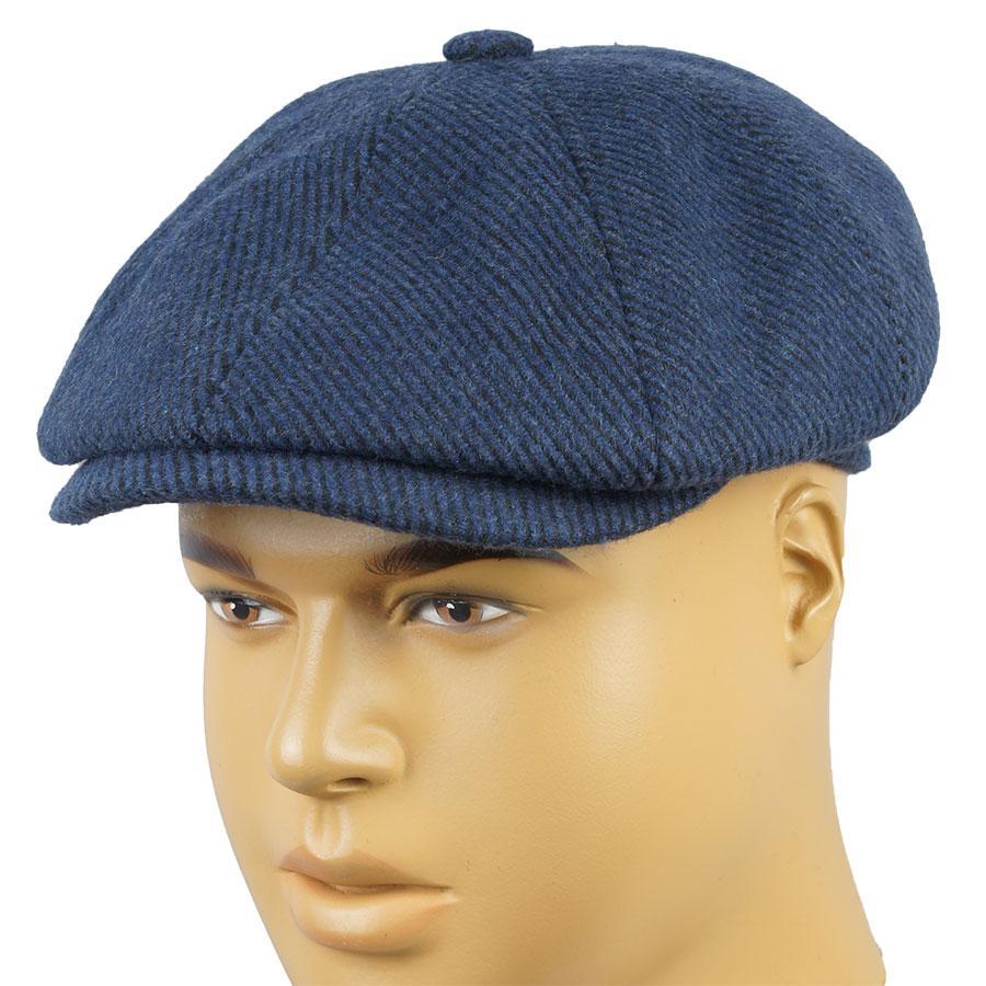 Синій картуз для чоловіків Сomfort Z-18/13 blue