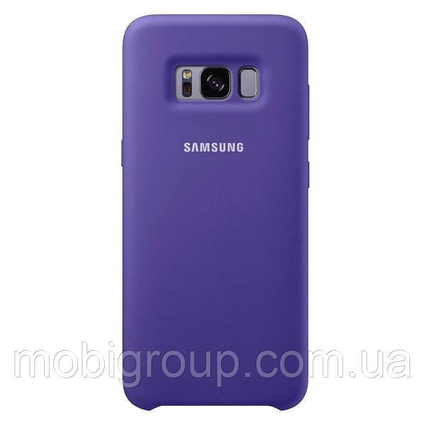 Чехол Silicone Cover для Samsung Galaxy S8 Plus, Purple