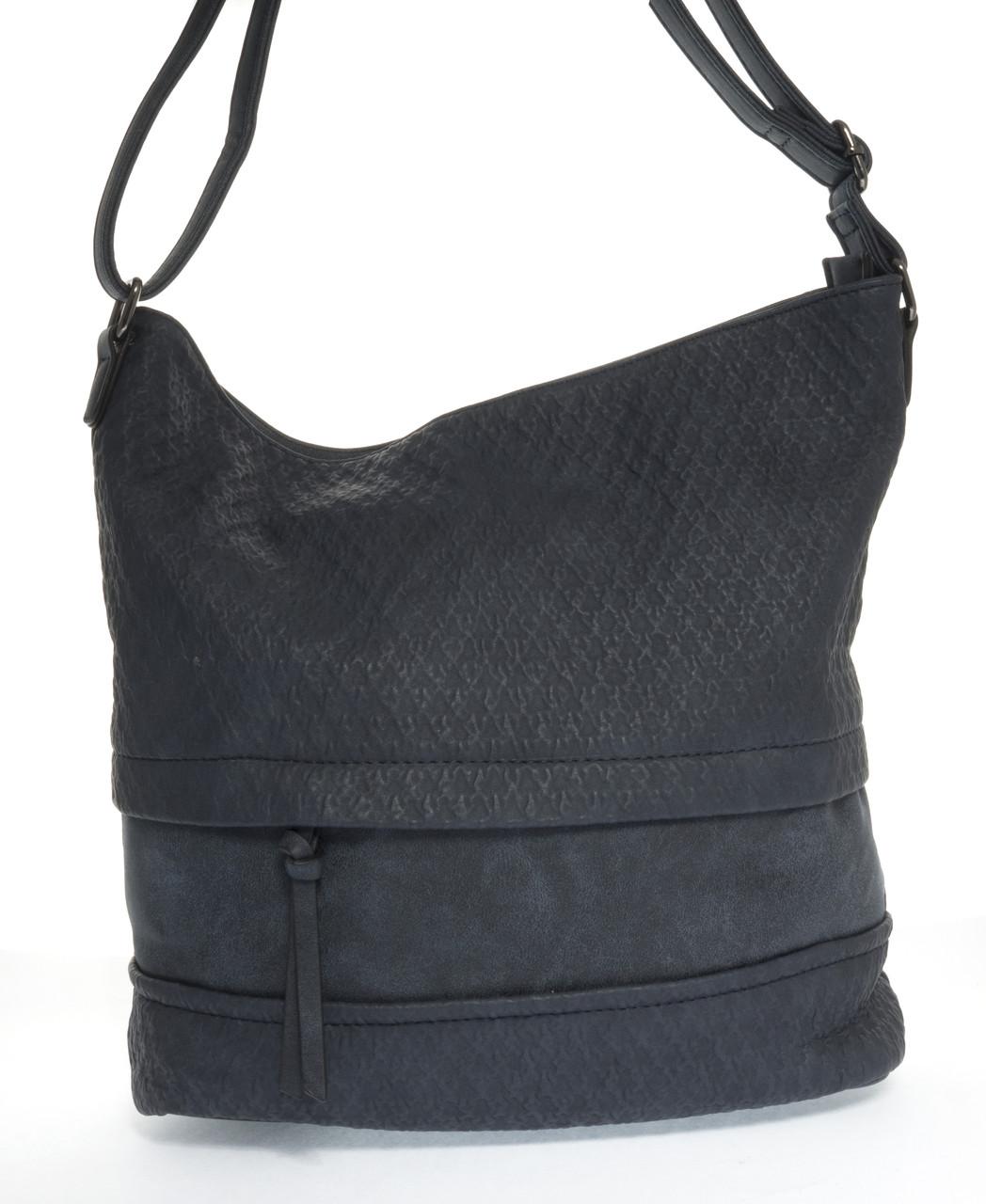 Вместительная стильная прочная модная качественная женская сумка Silviarosa art. SR-5352