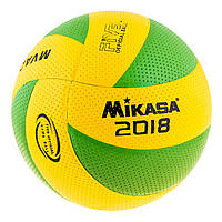 Мяч волейбольный Mikasa MVA200/2018 (PVC, №5, клееный), фото 1