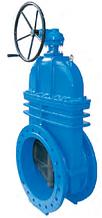 Засувка з гумованим клином під електропривод T. I. S service (Італія) A021 PMOT-S DN800 PN16 (ДУ800 РУ16)