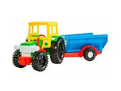 Трактор с прицепом (rv0001451)