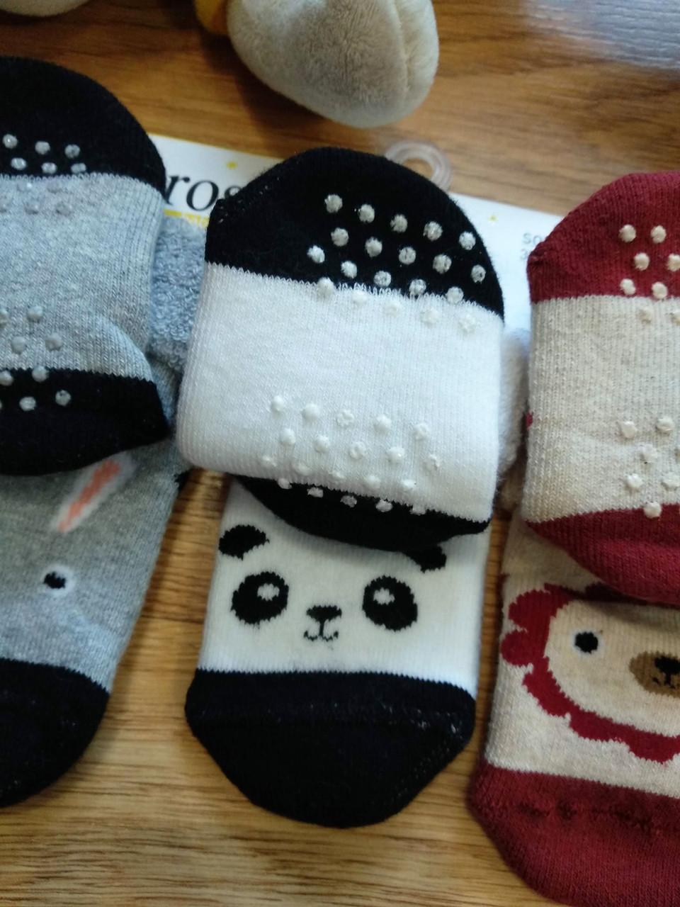 80f8b8ddae75b Теплые детские носки с тормозками Bross (размеры 13-15) купить носки ...