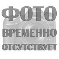 Перший вчитель - стрічка атлас з фольга (укр.мова) Бордовий, Золотистий, Український