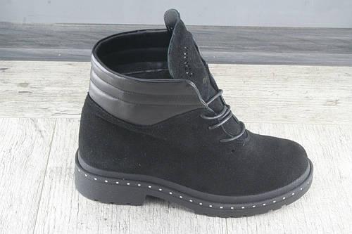 Ботинки, сапоги женские Gattini, обувь зимняя из натуральной замши, Украина