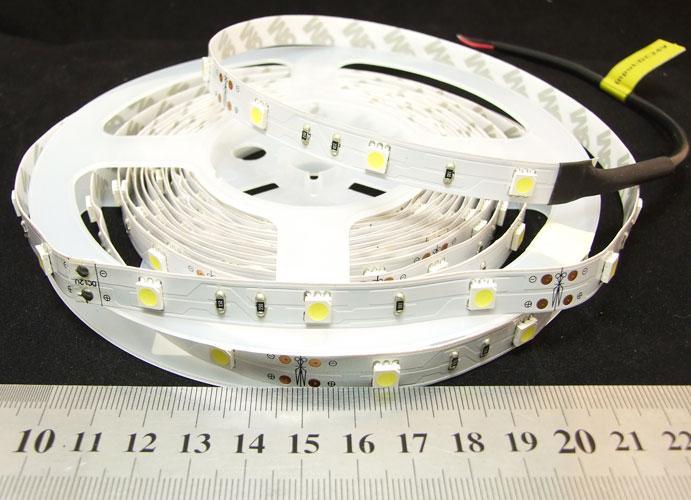 Светодиодная лента 5050-30-IP33-CWd-10-12