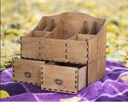 Деревянный органайзер, фото 2