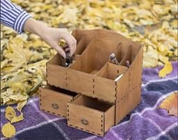 Деревянный органайзер, фото 3