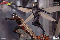 Офіційні фото статуй Людина-мураха та Оса від Iron Studios