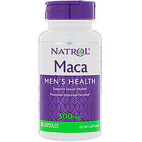 Maкa для мужского здоровья, 500 мг, 60 капсул Natrol