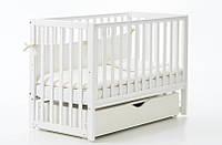 Детская кроватка Верес Соня ЛД 13 маятник+ящик (белый)