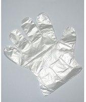 Перчатки РЕ размер М,L 100шт Китай