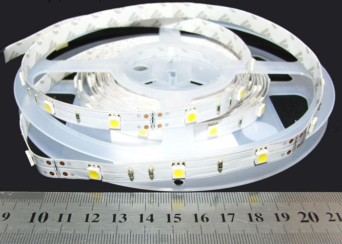 Светодиодная лента 5050-30-IP33-WW-10-12