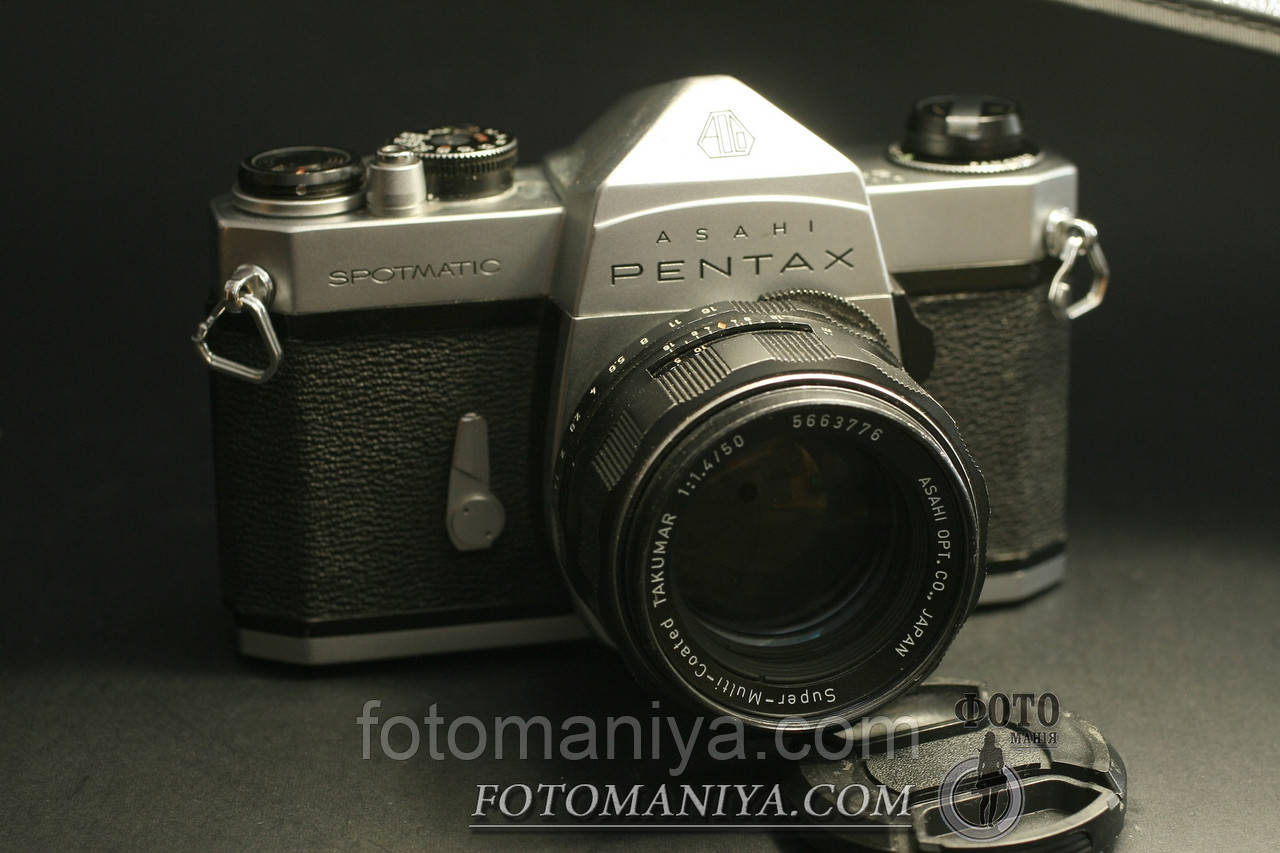 Плівковий фотоапарат Pentax Spotmatic kit Super-Milti-Coated Takumar 50mm f1,4