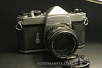 Плівковий фотоапарат Pentax Spotmatic kit Super-Milti-Coated Takumar 50mm f1,4, фото 1