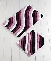 Alessia набор из двух ковриков в ванную комнату (высокая плотность)