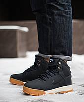 """Зимние кроссовки, ботинки на меху Nike Nevist """"Синие"""", фото 2"""