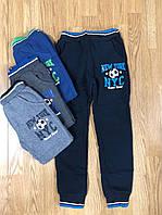 Спортивные утепленные штаны на мальчика оптом, Active Sport 98-128 рр, фото 1