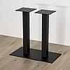 Опора двойная для стола из металла, фото 2