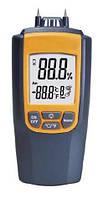 Игольчатый влагомер древесины и строительных материалов SR8040 (0.0%-95.7%) (-10 - +50º C) 7 режимов измерения