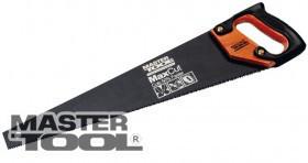 Ножовка столярная MAX CUT с тефлоновым покрытием 3d заточка, 7 зубьев на дюйм, 40 см