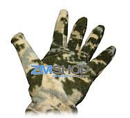 Перчатки флисовые (цифра)